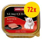 Animonda vom Feinsten Kitten 72 x 100 g