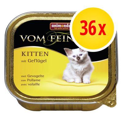 36 x 100 g animonda vom feinsten kitten zu discountpreisen bei. Black Bedroom Furniture Sets. Home Design Ideas