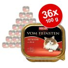 Animonda vom Feinsten Senior 36 x 100 g - Pack Ahorro