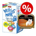 Animonda vom Feinsten 32 x 100 g + Milkies 20 x 15 g