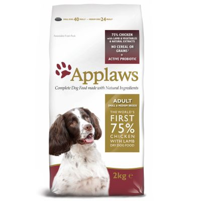 Applaws Adult Small & Medium Breed, poulet & agneau
