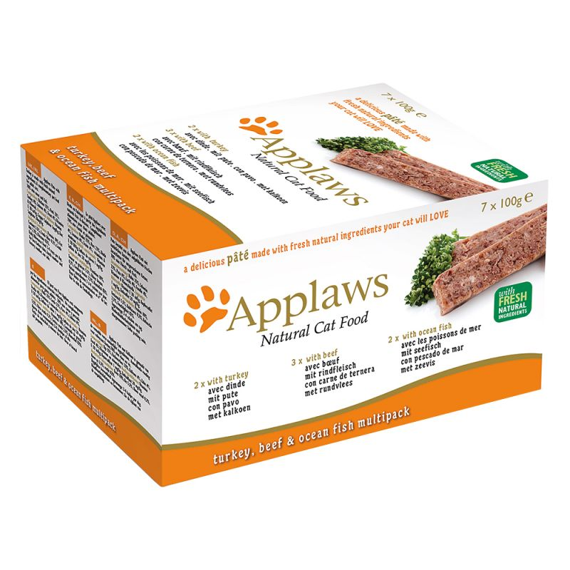 Applaws Cat Paté -lajitelma 7 x 100 g