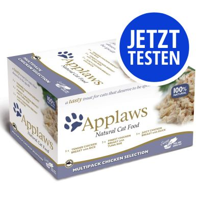Applaws Cat Pot Selection 8 x 60 g