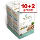 Applaws 12 x 70 g Cat Pouch en sobres: 10 + 2 ¡gratis!