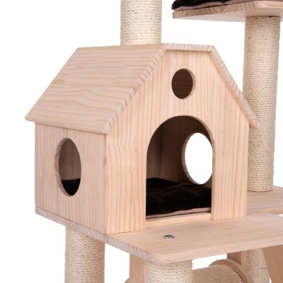 arbre chat kitty 39 s home prix discount sur. Black Bedroom Furniture Sets. Home Design Ideas