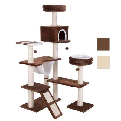 arbre chat maison en pain d 39 pice avec chelle prix discount sur. Black Bedroom Furniture Sets. Home Design Ideas