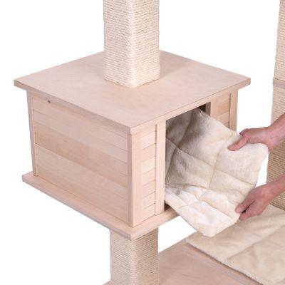 arbre chat entre 1 40 m et 1 60 m de haut. Black Bedroom Furniture Sets. Home Design Ideas