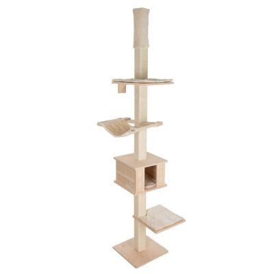 plus bas rabais nouvelle version artisanat exquis Arbre à chat Natural Paradise Quadra fixation plafond