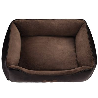 Artificial Leather Dog Bed