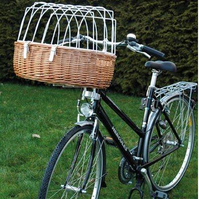 bf2847905a88 Aumüller Καλάθι ποδηλάτου για σκύλους με πλέγμα προστασίας
