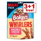 Bakers Dog Treats - 3 + 1 Free!*