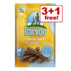 Barkoo Dental Snacks - 3 + 1 Free!*
