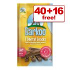 Barkoo Dental Snacks - 40 + 16 Free!*