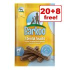Barkoo Dental Snacks - 20 + 8 Free!*