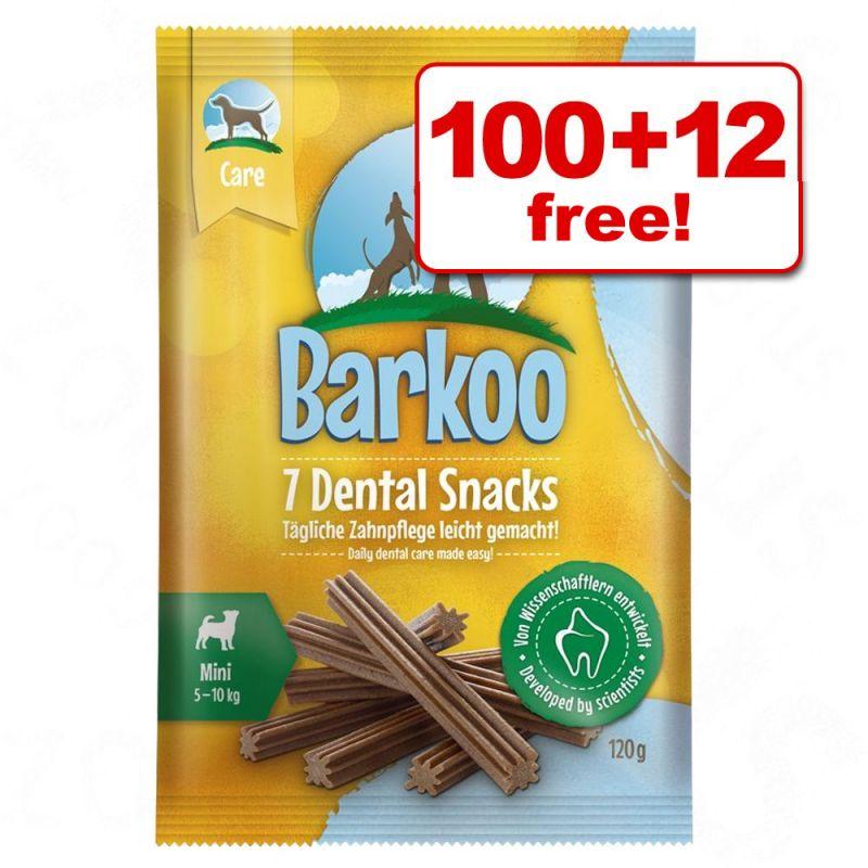 Barkoo Dental Snacks  - 100 + 12 Free!*