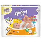 Bella Baby Happy Windeln Größe 2 Mini 3 - 6 kg Big Pack