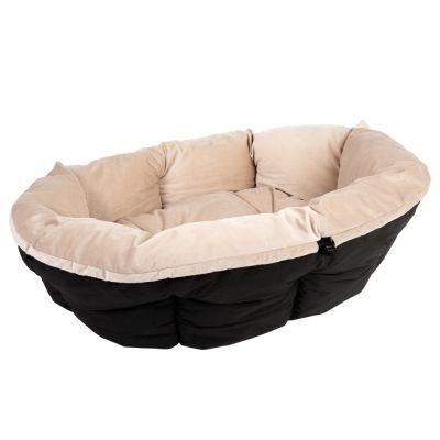 berzug sof samt beige f r ferplast hundekorb siesta. Black Bedroom Furniture Sets. Home Design Ideas
