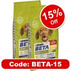BETA Dog Food Economy Packs 2 x 14kg