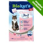 Biokat's Classic Fresh 3in1 Cat Litter - Baby Powder Scent