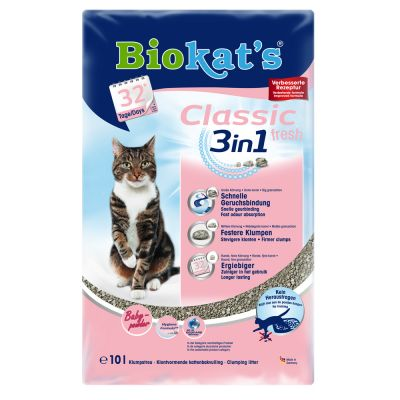 Biokat´s Classic Fresh 3in1 Babypuderduft