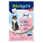 Biokat´s Classic Fresh 3in1 -kissanhiekka, talkintuoksuinen