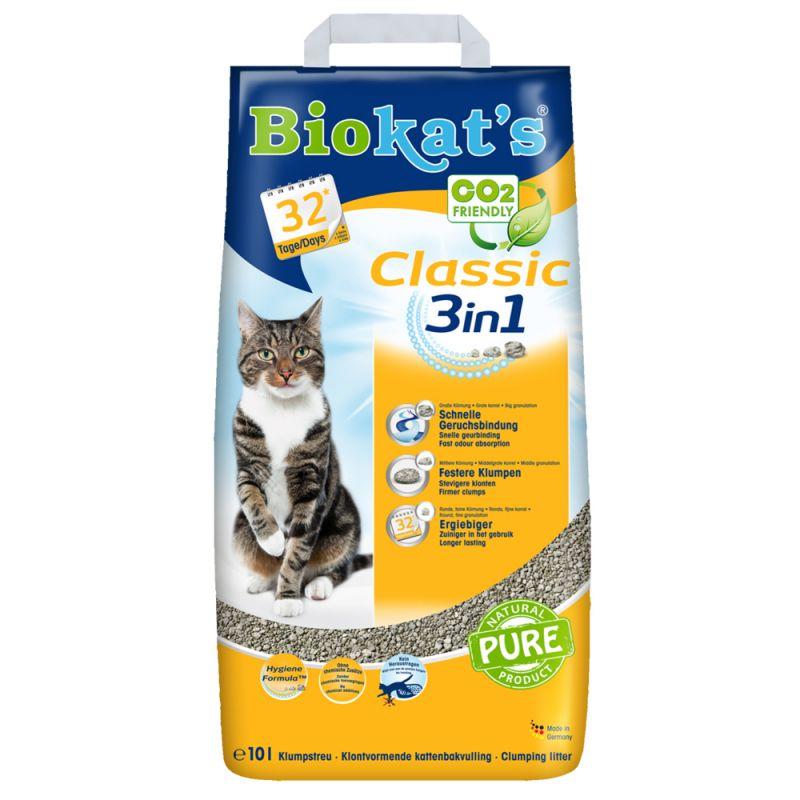 Biokat's Classic 3in1 Cat Litter