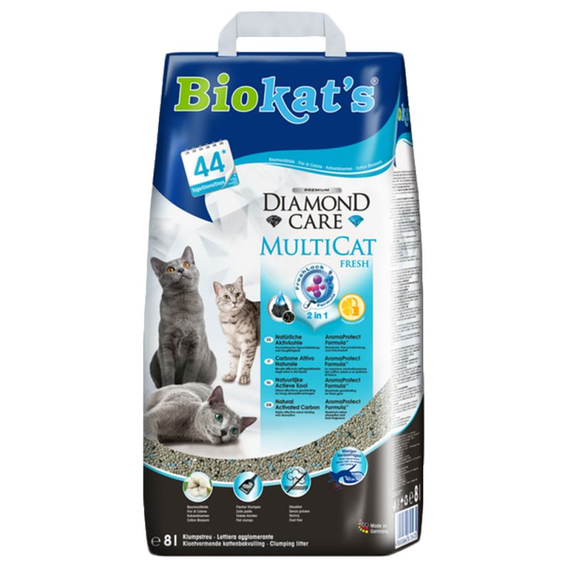Biokat's Diamond Care MultiCat Fresh Cat Litter