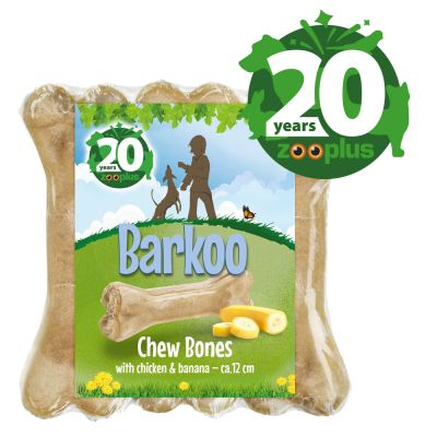 Birthday Edition Barkoo Chew Bones - Chicken & Banana