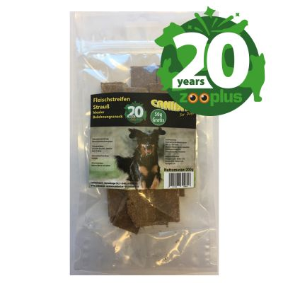 Birthday Edition: 150g CANIBIT Ostrich Dog Chew Snacks + 50g Free!*