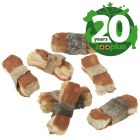 Birthday Edition Lukullus Dog Bones Mixed Pack (850g)