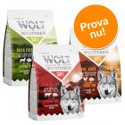 Blandat provpack: 3 x 1 kg Wolf of Wilderness Soft & Strong