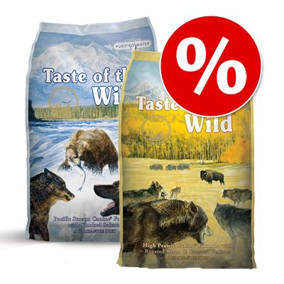 taste of the wild foder