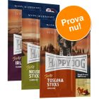 Blandat provpack: 3 sorters Happy Dog Tasty Sticks, tuggpinnar