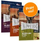 Blandet prøvepakke: Happy Dog Tasty Sticks