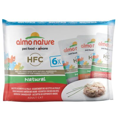 Blandpack Almo Nature HFC Pouch 6 x 55 g