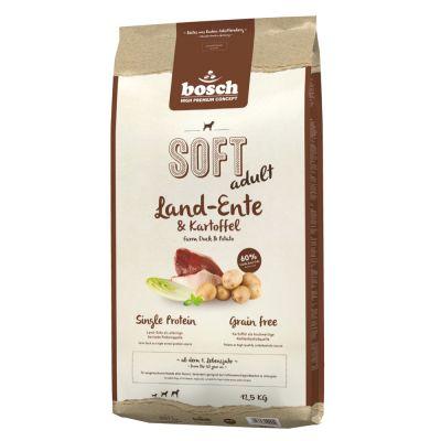 bosch soft land ente kartoffel hundefutter g nstig zooplus. Black Bedroom Furniture Sets. Home Design Ideas