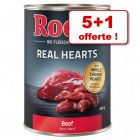 Boîtes Rocco Real Hearts 400 g/ 800 g, 5 + 1 offerte !