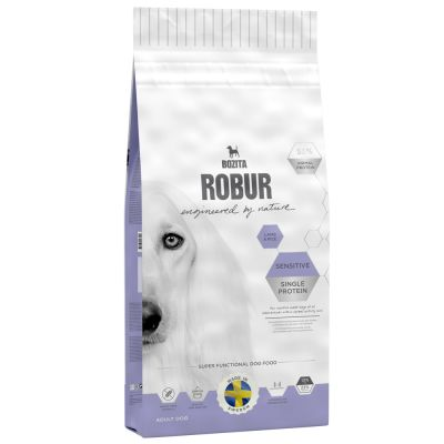 Bozita Robur Sensitive Single Protein con cordero y arroz
