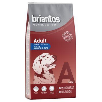 052ce1b02f04 Briantos Adult Σολομός   Ρύζι ξηρά τροφή σκύλων από την zooplus.gr
