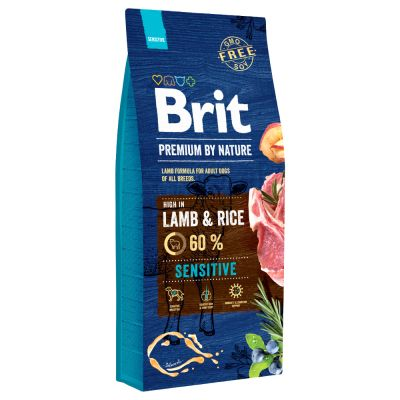 Brit Premium by Nature Sensitive Lamb & Rice