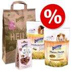 Bunny Guinea Pig Starter Set + 250g Bunny Hay from Protected Meadows Free!*