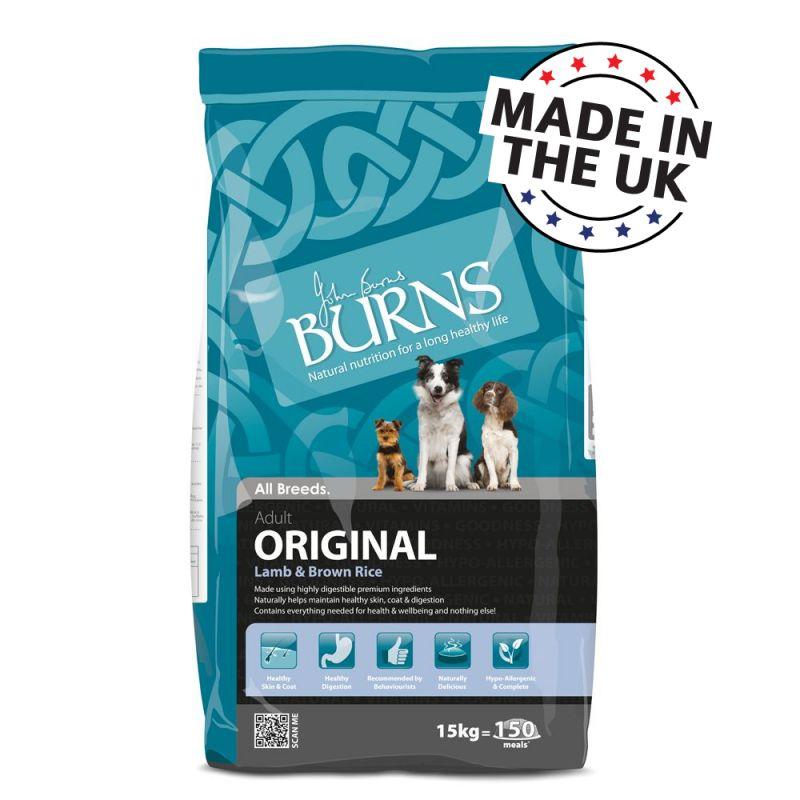 Burns Adult Original Lamb Brown Rice Buy Now At Zooplus