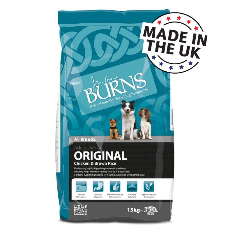 Burns Chicken & Brown Rice - Adult & Senior Original