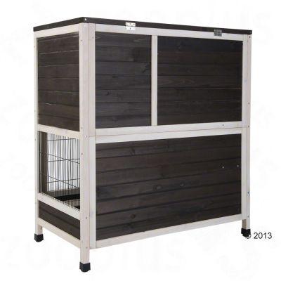 Cage lounge à 2 niveaux pour lapin et cochon dinde