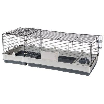 de34bca6cfb368 Ferplast Plaza 140 - Cage pour lapin et rongeur - zooplus