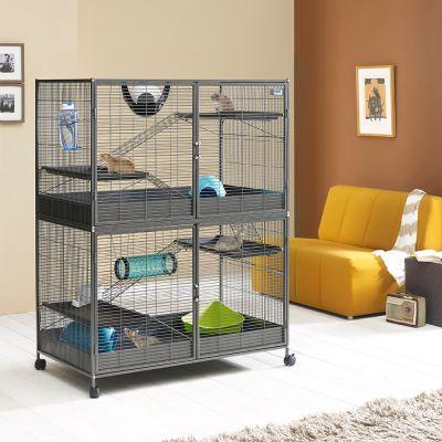 Cage à rat à plusieurs niveaux et grande cage à rat - À prix ... 1f7b0ad28d4a