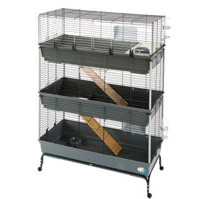 sells shopping wide varieties Cage Vital 120 à 3 niveaux pour lapin et rongeur