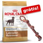 Canin Breed 9 kg a 12 kg + corda Trixie colorida grátis!
