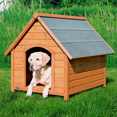 Cuccia Per Cani Trixie Natura Tetto Spiovente Zooplus