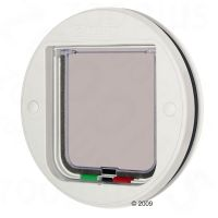 Cat Mate Glass Fitting Cat Flap - 4 Way Lock